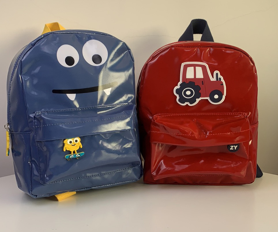 Sticker backpack